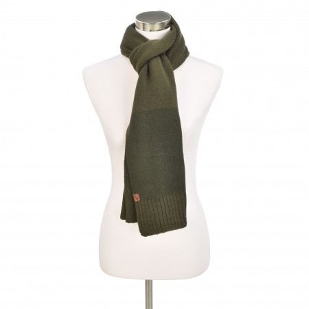SALE % | camel active | Strickschal - Muster | Oliv online im Shop bei meinfischer.de kaufen