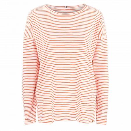 SALE % | camel active Women | T-Shirt - Loose Fit - Stripes | Orange online im Shop bei meinfischer.de kaufen