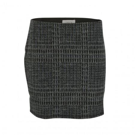 SALE % | Boss Casual | Minirock - Regular Fit - Muster | Grau online im Shop bei meinfischer.de kaufen
