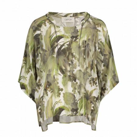 SALE %   Cartoon   Bluse - Comfort Fit - Muster   Grün online im Shop bei meinfischer.de kaufen