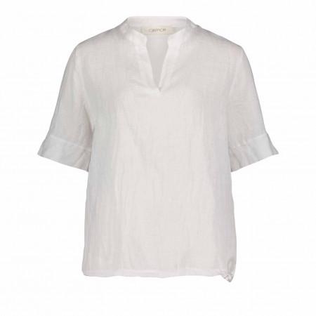 SALE % | Cartoon | Bluse - Comfort Fit - Leinen | Weiß online im Shop bei meinfischer.de kaufen