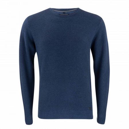 SALE % | CASAMODA | Pullover - Casual Fit - Crewneck | Blau online im Shop bei meinfischer.de kaufen