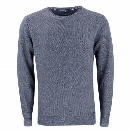 SALE %   CASAMODA   Pullover - Casual Fit - Crewneck   Blau online im Shop bei meinfischer.de kaufen