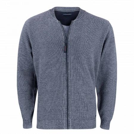 SALE % | CASAMODA | Strickjacke - Casual Fit - Zip | Blau online im Shop bei meinfischer.de kaufen