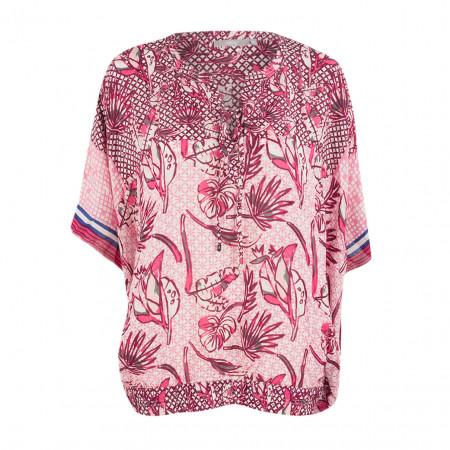 SALE % | Boss Casual | Tunika - Comfort Fit - Muster | Pink online im Shop bei meinfischer.de kaufen