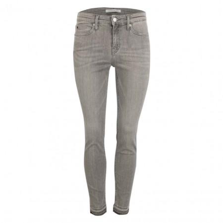 SALE % | Calvin Klein Jeans | Jeans -  Skinny Fit - Mid Rise | Grau online im Shop bei meinfischer.de kaufen