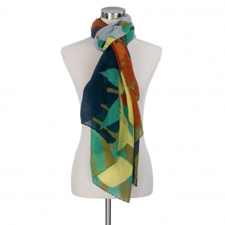 SALE % | Codello Women | Plisseeschal - Print | Bunt online im Shop bei meinfischer.de kaufen