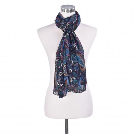 SALE %   Codello Women   Schal - Paisley   Blau online im Shop bei meinfischer.de kaufen