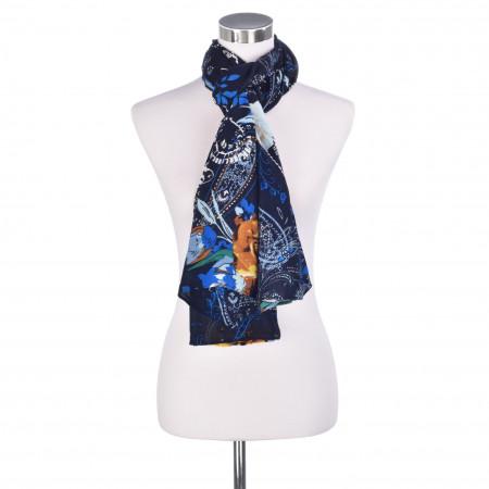 SALE % | Codello Women | Schal - Muster | Blau online im Shop bei meinfischer.de kaufen