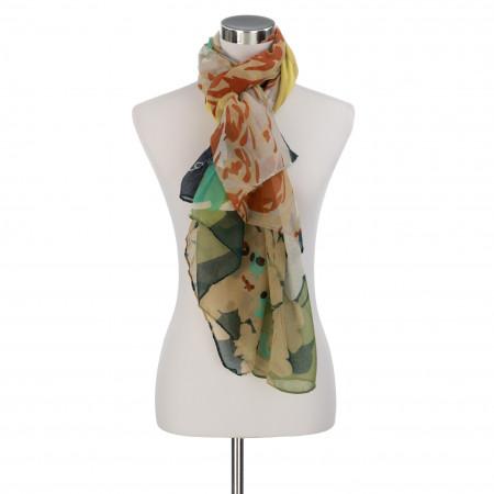 SALE % | Codello Women | Schal - Print | Grün online im Shop bei meinfischer.de kaufen