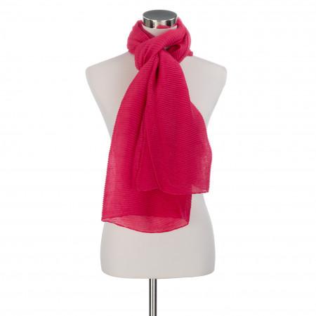 SALE % | Codello Women | Plisseeschal - unifarben | Pink online im Shop bei meinfischer.de kaufen