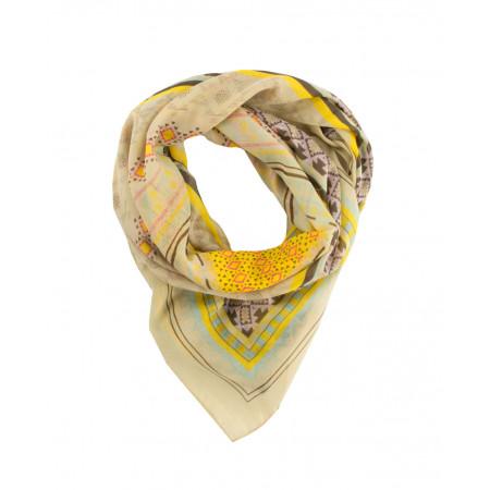 SALE % | Codello Women | Halstuch-gemustert | Gelb online im Shop bei meinfischer.de kaufen