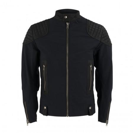 SALE % | Boss Casual | Übergangsjacke - Slim Fit - Biker-Style | Schwarz online im Shop bei meinfischer.de kaufen