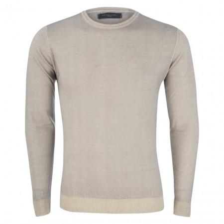 SALE % | Daniele Fiesoli | Pullover - Slim Fit - Merinowolle | Grau online im Shop bei meinfischer.de kaufen