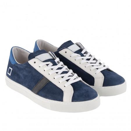 SALE % | Boss Casual | Sneaker -  Newman Perforate - Leder | Blau online im Shop bei meinfischer.de kaufen
