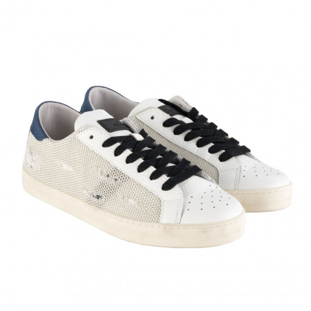 SALE % | Boss Casual | Sneaker -  Hill Low Pop - Leder | Weiß online im Shop bei meinfischer.de kaufen