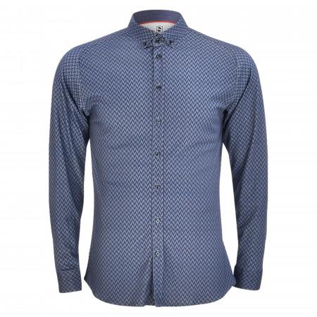 SALE %   Desoto   Cityhemd - Slim Fit - Button-Down   Blau online im Shop bei meinfischer.de kaufen
