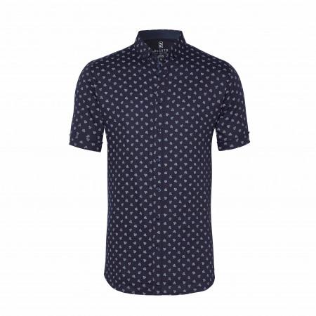 SALE % | Desoto | Freizeithemd - Modern Fit - Button Down | Blau online im Shop bei meinfischer.de kaufen