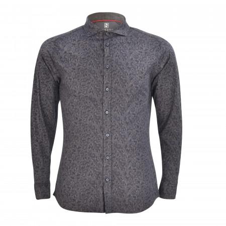 SALE % | Desoto | Cityhemd - Regular Fit - Haikragen | Blau online im Shop bei meinfischer.de kaufen