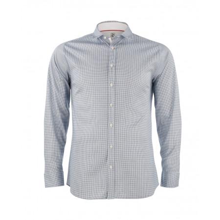 SALE % | Boss Casual | Hemd -  Modern Kent -  Jersey  | Blau online im Shop bei meinfischer.de kaufen
