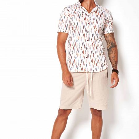 SALE %   Nein   Freizeithemd - Modern Fit - Button Down   Weiß online im Shop bei meinfischer.de kaufen