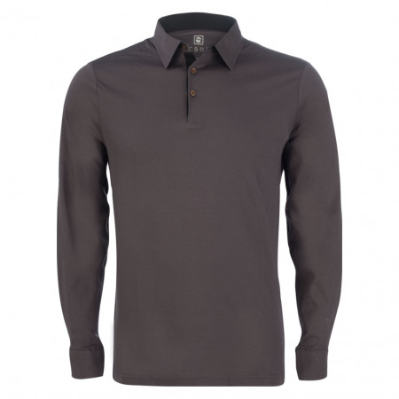 Poloshirt - Modern Fit - Baumwoll-Stretch