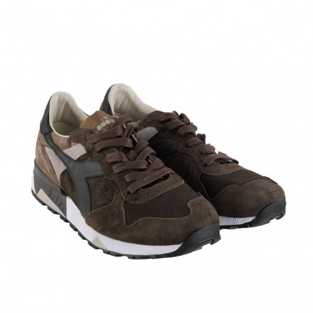 SALE % | Boss Casual | Sportsneaker - Leder | Braun online im Shop bei meinfischer.de kaufen