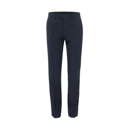 SALE % | Boss Casual | Anzughose - Extra Slim Fit - Wolle | Blau online im Shop bei meinfischer.de kaufen