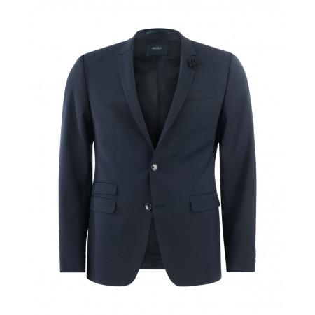 SALE % | Boss Casual | Baukastensakko - Extra Slim Fit - Wolle | Blau online im Shop bei meinfischer.de kaufen