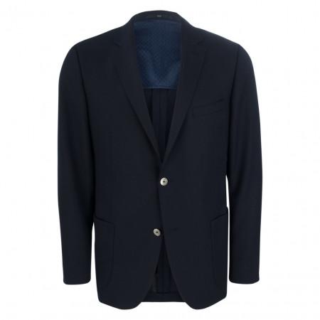 SALE % | Eduard Dressler | Sakko - Modern Fit - Schurwolle | Blau online im Shop bei meinfischer.de kaufen