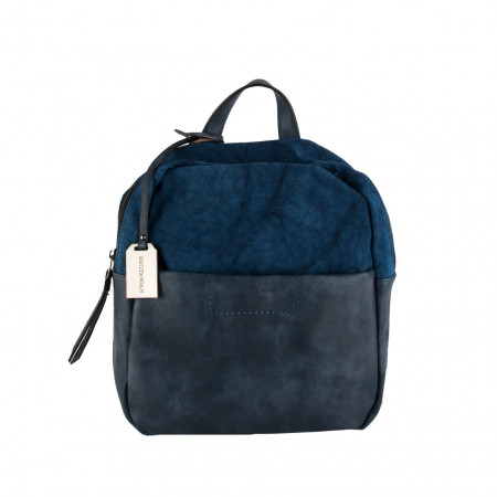 SALE % | Boss Casual | Cityrucksack - Leder-Optik | Blau online im Shop bei meinfischer.de kaufen