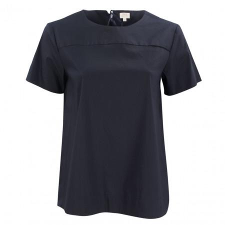SALE % | Eterna | Bluse - Comfort Fit - kurzarm | Blau online im Shop bei meinfischer.de kaufen