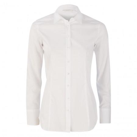 SALE % | Eterna | Bluse - Slim Fit - Basic | Weiß online im Shop bei meinfischer.de kaufen