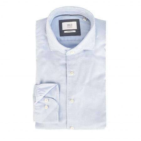 SALE % | Eterna | Cirtyhemd - Modern Fit - Haikragen | Blau online im Shop bei meinfischer.de kaufen