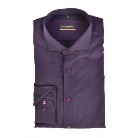 SALE %   Eterna   Cityhemd - Slim Fit - Haikragen   Lila online im Shop bei meinfischer.de kaufen