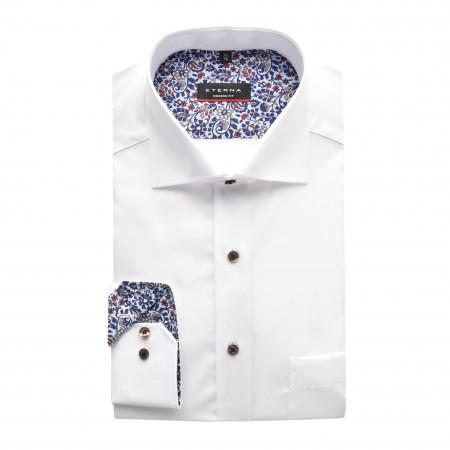 SALE % | Eterna | Cityhemd - Modern Fit - Kentkragen | Weiß online im Shop bei meinfischer.de kaufen