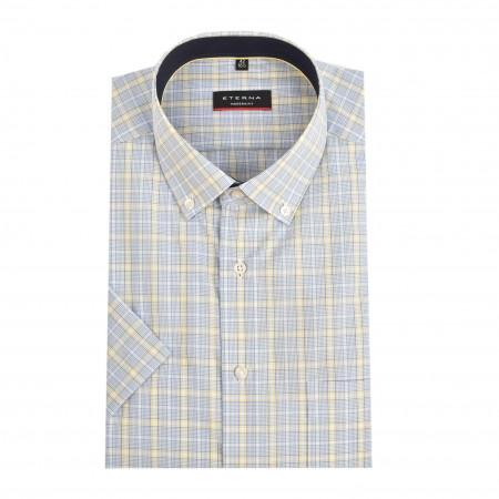 SALE %   Eterna   Hemd - Modern Fit - Button Down-Kragen   Blau online im Shop bei meinfischer.de kaufen