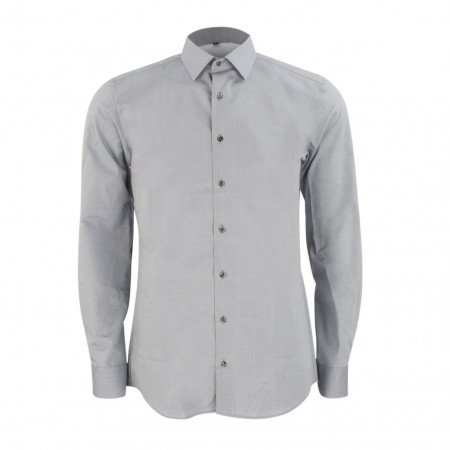 SALE % | Boss Casual | Hemd 8500 F14P - Slim Fit - Kentkragen | Grau online im Shop bei meinfischer.de kaufen