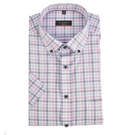 SALE % | Eterna | Hemd - Modern Fit - Button Down-Kragen | Rosa online im Shop bei meinfischer.de kaufen