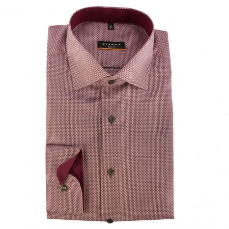 SALE %   Eterna   Hemd - Slim Fit - Minicheck   Rot online im Shop bei meinfischer.de kaufen