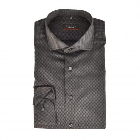 SALE % | Eterna | Hemd - Modern Fit - Haikragen | Schwarz online im Shop bei meinfischer.de kaufen