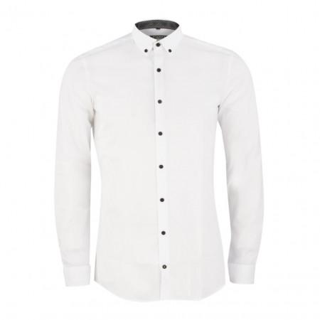 SALE % | Boss Casual | Hemd - Super Slim fit - Button Down | Weiß online im Shop bei meinfischer.de kaufen