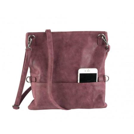 SALE % | Boss Casual | Foldover-Clutch - Zipper - Leder-Optik | Rot online im Shop bei meinfischer.de kaufen