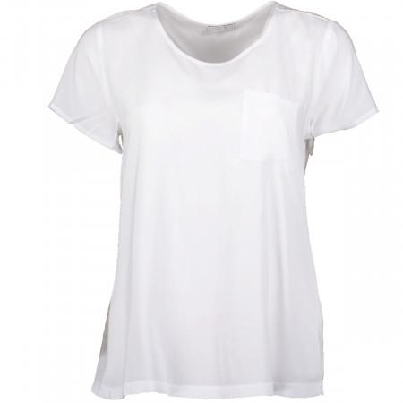 SALE % | re.draft | Blusenshirt - Comfort Fit - Crewneck | Weiß online im Shop bei meinfischer.de kaufen