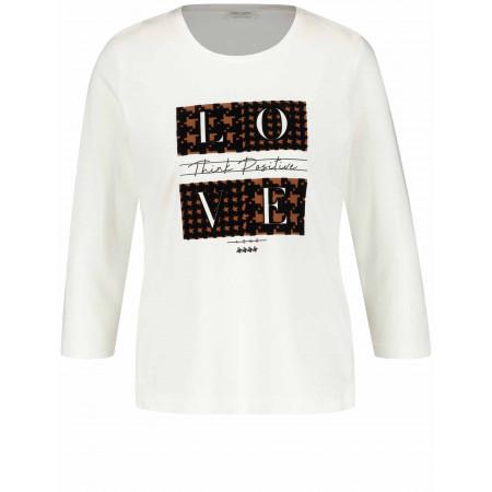 SALE %   Gerry Weber Collection   Shirt - Comfort Fit - 3/4-Arm   Weiß online im Shop bei meinfischer.de kaufen