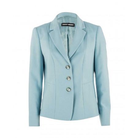 SALE % | Gerry Weber Collection | Blazer Wolle-Kaschmir | Blau online im Shop bei meinfischer.de kaufen