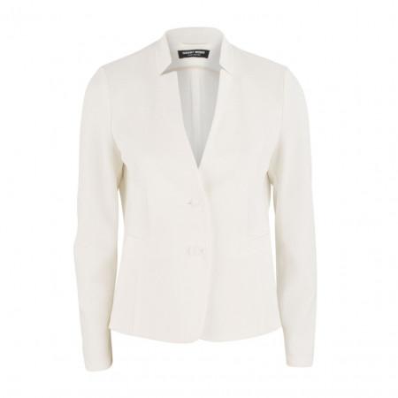 SALE % | Boss Casual | Blazer - Slim Fit - Struktur-Muster | Weiß online im Shop bei meinfischer.de kaufen