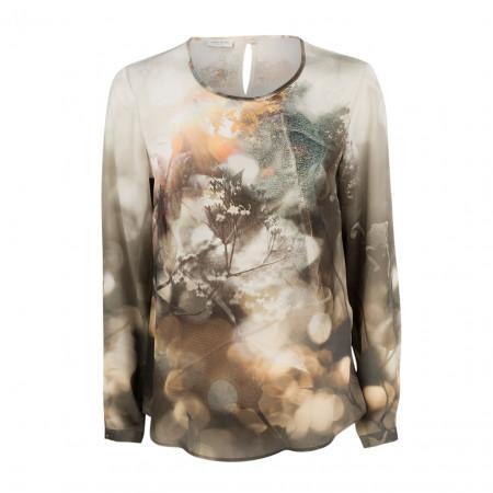 SALE % | Gerry Weber Collection | Bluse - Regular Fit - Muster | Bunt online im Shop bei meinfischer.de kaufen