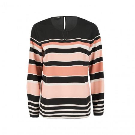 SALE % | Boss Casual | Bluse - Regular Fit - Stripes | Bunt online im Shop bei meinfischer.de kaufen