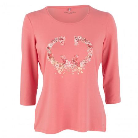 SALE % | Gerry Weber Edition | Shirt - Comfort Fit - 3/4-Arm | Pink online im Shop bei meinfischer.de kaufen